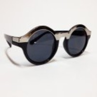 Number A : Round Chrome Sunnies - NOA-JOIRCS