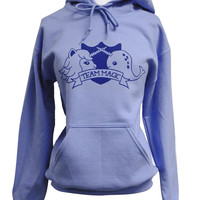 Narwhal Unicorn Sweater  TEAM MAGIC Hooded by theboldbanana