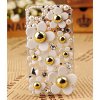 Apple iPod Touch 4G Pearl Back Transparent Clear Case Cover Birthday Gift for Her Free Shipping Worldwide
