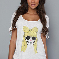 Karmaloop.com -The Gaga Middle School Top in Blush