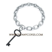 Shopping Cheap Tiffany Key Charm Bracelet At Tiffanyco925.com - Discount Tiffany Bracelets