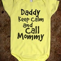 KEEP CALM &amp; CALL MOMMY