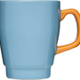 Pop Mug in Turquoise and Orange | BURKE DECOR