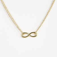 Urban Outfitters - Adina Reyter Infinity Pendant Necklace