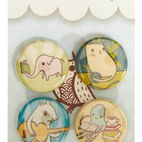 Educated Animals Pins | Mod Retro Vintage Pins | ModCloth.com