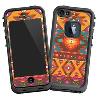 Aztec Tribal Skin for Iphone 5 LifeProof Case