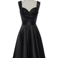 Satin Scene Stealer Dress