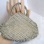Vintage Art Nouveau Rhinestone Czech Wedding Purse
