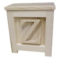 Amazon.com: Wooden Block Step Stool - Made to Order Unpainted: Home &amp; Kitchen