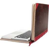 Twelve South (12-1002) BookBook, 13-inch Hardback Leather Case for 13-inch MacBook Pro, Red