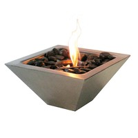 Empire Stainless Steel Fireplace
