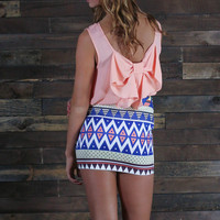 Madness Tribal Print Skirt