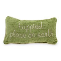 Disneyland Pillow - ''Happiest Place on Earth'' | Disney Store