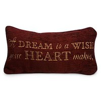 Cinderella Pillow - ''A Dream is a Wish Your Heart Makes'' | Disney Store
