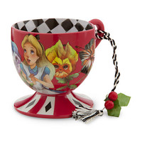 Disney Alice in Wonderland Tea Cup Ornament - Alice | Disney Store