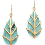 Dean Davidson Small Leaf Earrings | SHOPBOP