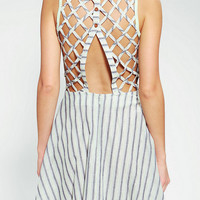 DV By Dolce Vita Lattice Back Remedios Dress