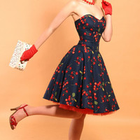 Rockabilly Cherry Bomb dress
