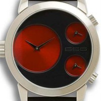 666 Barcelona Red Colour Watch - Cool Watches from Watchismo.com