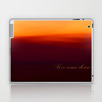 Love come down Laptop & iPad Skin by Armine Nersisyan
