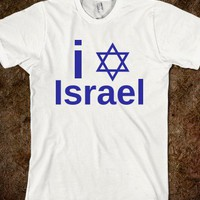 I * Israel - Three Days West - Skreened T-shirts, Organic Shirts, Hoodies, Kids Tees, Baby One-Pieces and Tote Bags