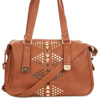 Studded Holdall - Luggage - Bags &amp; Wallets  - Bags &amp; Accessories