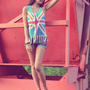 Lacey Union Jack Tank