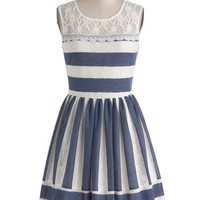 Waterfront Outing Dress | Mod Retro Vintage Dresses | ModCloth.com