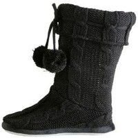 Tessa Sweater Bootie Slipper 