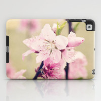 Pink Pear Blossoms 2 iPad Case by Erin Johnson