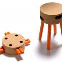 Senta Cork Stool