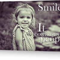 &quot;Smile.&quot; Greeting Cards &amp; Postcards by Shad Kingston | RedBubble