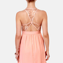 Sparks Fly Peach Sequin Dress