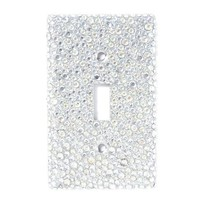 Rhinestone Light Switch Cover  | Icing
