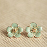 kauai island earrings in mint at ShopRuche.com