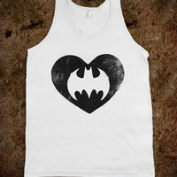 Batman Love (Neon Tank) - Fun Movie Shirts - Skreened T-shirts, Organic Shirts, Hoodies, Kids Tees, Baby One-Pieces and Tote Bags
