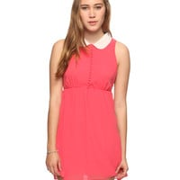 Peter Pan Collar Dress | FOREVER21 - 2011408536