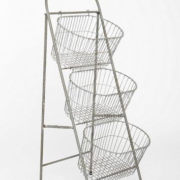 Ladder Storage Basket