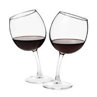 Amazon.com: Tipsy Wine Glasses: Kitchen & Dining