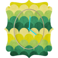 DENY Designs Home Accessories | Arcturus Scales Quatrefoil Clock