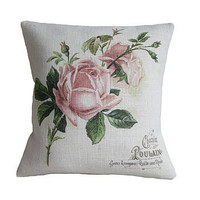 &#x27;Lovely Roses&#x27; Cushion