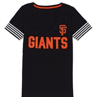 San Francisco Giants V-neck Tee - Victoria's Secret Pink® - Victoria's Secret