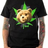 ROCKWORLDEAST - Ted, T-Shirt, Pot Leaf
