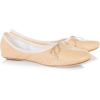 Leather ballet flats by Chloé on Shop For Fun
