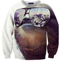 Money On My Mind Sloth Sweater