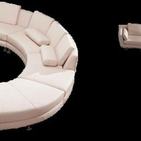 Curved Sectional Sofa - Opulentitems.com