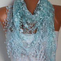 Etsy - Women Shawl Scarf - Headband Necklace Cowl/76868499