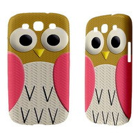 New Samsung Galaxy S3 Phone Case Cute Retro Owl by sevenheven