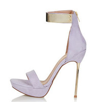 LOLLY Metal Heel Sandals