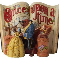 Amazon.com: Enesco Disney Traditions by Jim Shore Beauty and The Beast Storybook Figurine, 6-Inch: Home & Kitchen